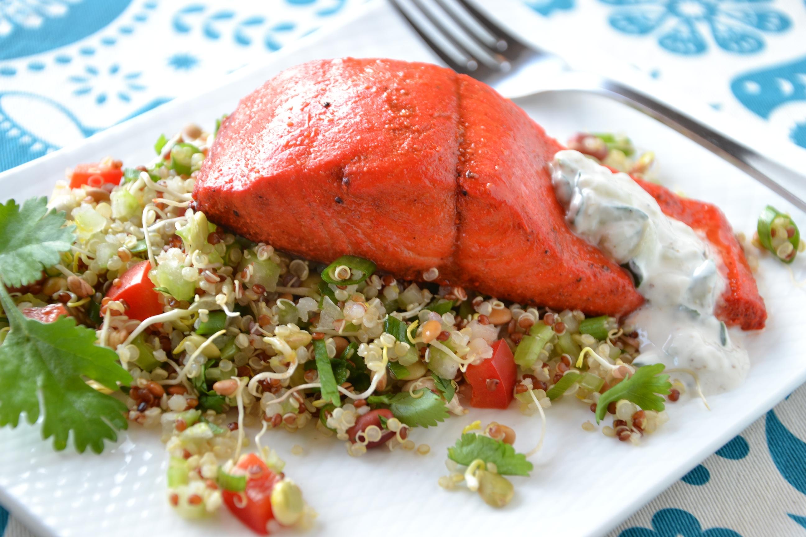 salmon tandoori