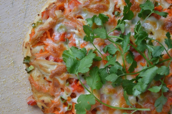 pizza thai turkey unsliced