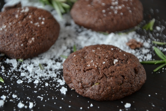 rosemary choc cookies